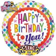 singing balloon happy birthday singing balloons 28