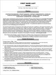 Construction Superintendent Resume Samples by Top Construction Resume Templates U0026 Samples