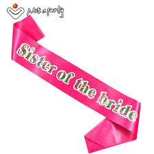 sash ribbon 3pcs pink of the to be sash ribbon hen