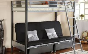 Bunk Bed With Mattresses Included Futon Futon Bunk Bed With Mattress Included Unusual Black Futon