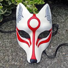 werewolf mask spirit halloween japanese demon fox mask il fullxfull 238369207 halloween