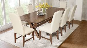Dark Wood Dining Room Sets Cherry Espresso Mahogany Brown Etc - Dining room sets wood