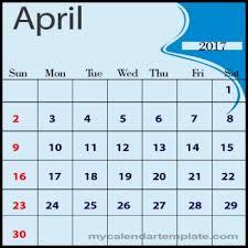 save stunning april calendar printable templates 2017 online