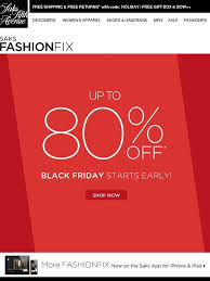 saks black friday saks fifth avenue black friday starts early 80 off milled