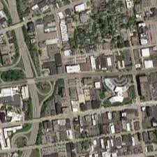 map of cleveland satellite map of cleveland oh satellite images of