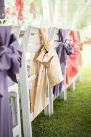 chair sashes for weddings 20 creative diy wedding chair ideas with satin sash