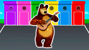 Colors For 2016 by Masha And The Bear Colors For Kids Parody To Learn With Colors