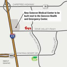 Anthem Arizona Map by Hospital Retail U0026 Possibly Hotel Planned For North Phoenix