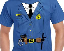Security Halloween Costumes Police Costume Etsy