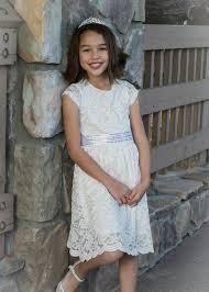 girls u0027 off white gorgeous lace dress u2013 lil neti boutique