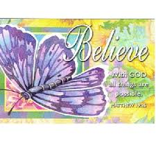 pkg 25 believe butterfly with god all things christian message