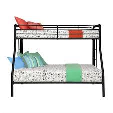 Bunk Bed Metal Frame Metal Bunk Bed In Black 3136096