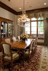 dining room curtain ideas dining room traditional with beige