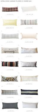 our lumbar pillow roundup emily henderson