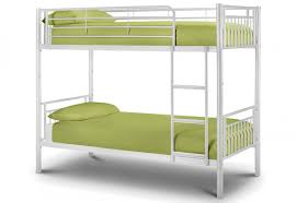 White Metal Bunk Bed Julian Bowen Atlas Metal Bunk Bed White Gloss Finish Package