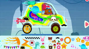dinosaur car drive truck games paint your own dinosaurs vehicle