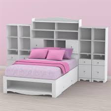 Zayley Bookcase Bedroom Set Nexera Pixel Youth Full Size Tall Bookcase Storage Bedroom