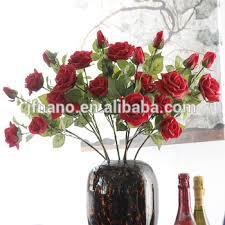 silk roses moisturizing feel realistic silk roses wedding decoration car