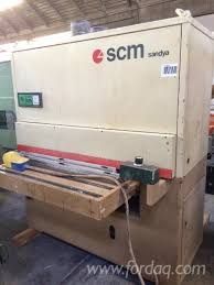 Scm Woodworking Machines South Africa by Used Scm Sandya 7s 2006 Belt Sander For Sale Poland