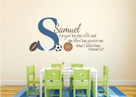 1 samuel 1 27 bible scripture verse child name personalized