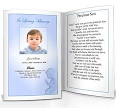 Templates For Funeral Program Funeral Program Templates Archives Funeral Templates