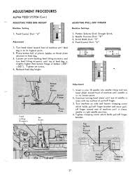singer sewing machine model 750 service manual repair manual with