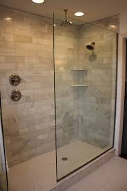 open shower bathroom design awesome open glass shower room for cool bathroom design ideas