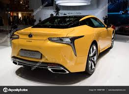 2018 lexus lc 500 new 2018 lexus lc 500 luxury coupe hybrid car u2013 stock editorial photo
