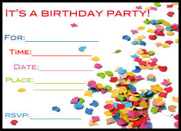 free printable birthday invitations with photo insert printable
