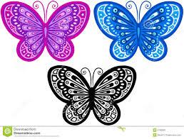 butterfly vector illustration stock vector illustration of