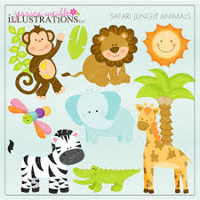 16 safari animal templates images jungle animals baby shower