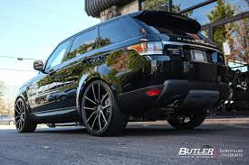 range rover sport rims land rover range rover sport with 24in lexani gravity wheels