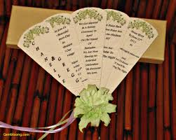 wedding program paddle fan template free free printable wedding program paddle fan templates picture