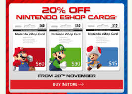 eshop gift cards expired get 20 nintendo eshop gift cards at eb gift