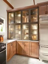 vintage glass front kitchen cabinets design insights