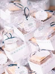 best wedding favor ideas for each season