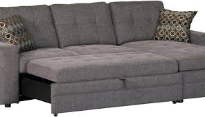 Chaise Queen Sleeper Sectional Sofa Sectional Sofa With Chaise Recliner And Sleeper Leather Canada Bed