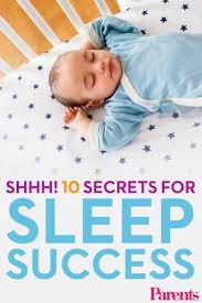 10 secrets of infant sleep coaches babies parents and