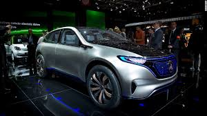 luxury mercedes suv mercedes unveils concept for electric lineup sep 29 2016