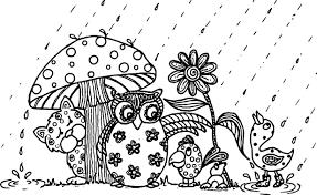 april showers coloring pictures murderthestout