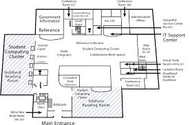level floor level 3 floor of hshire library