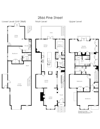 excellent ideas san francisco row house floor plans 7 san