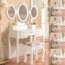white vanities and makeup tables ebay