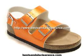 birkenstock milano sandals mens sandals orange birkenstock