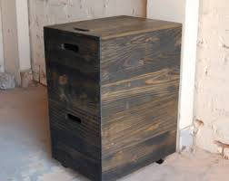 Reclaimed Wood File Cabinet Filing Cabinet Etsy