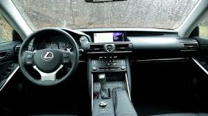 lexus is 350 interior 2017 2017 lexus is 300 awd review autoguide com news