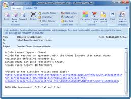 spam scandal obama resignation letter u2013 superantispyware blog