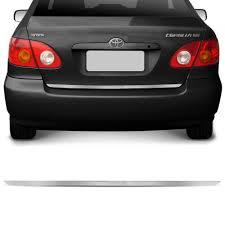 Extreme Friso Cromado Resinado Traseiro Porta Malas Corolla 2002 a 2007  #AX37