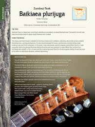 Nice Characteristic Guide To The Properties And Uses Of Southern African Wood