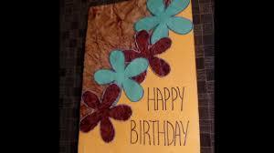 simple and beautiful handmade birthday cards ideas easy tutorial